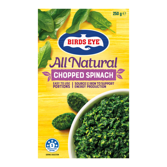Chopped Spinach Image