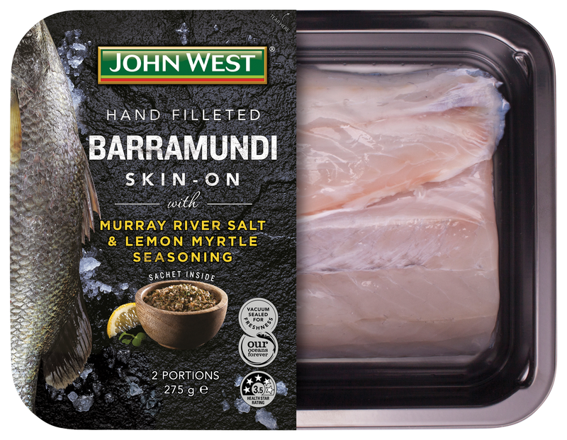 JW Barramundi Lemon Myrtle Seasoning