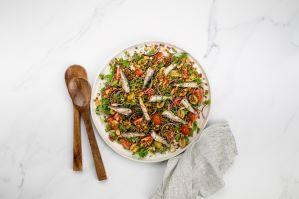 Sardine and lentil