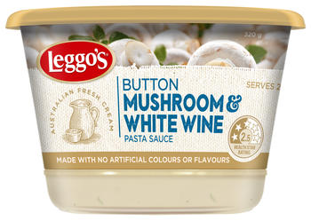 Button Mushroom and White Wine Sauce 320g